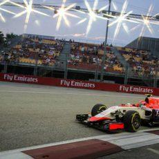 Alexander Rossi afronta su primera clasificación con un F1
