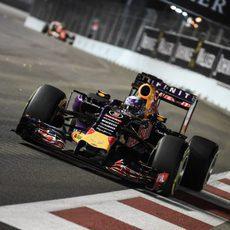 Daniel Ricciardo saldrá desde la primera fila de la parrilla