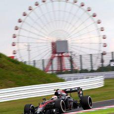 Jenson Button no es capaz de pasar a la Q2