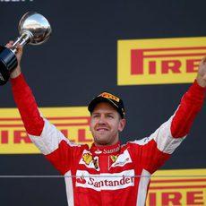 Sebastian Vettel consigue el tercer puesto en Japón