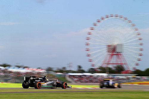 Sergio Pérez termina en 12ª posición en Suzuka