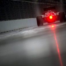 El VJM08 de Sergio Pérez avanza en Sochi