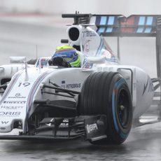 Felipe Massa termina líder de los FP2 del GP de Rusia 2015