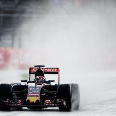 Max Verstappen rodó muy rápido en el trazado de Sochi
