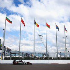 Nico Hulkenberg se hace con la sexta posición