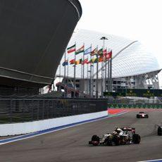 Pastor Maldonado se quejó de problemas en la clasificación