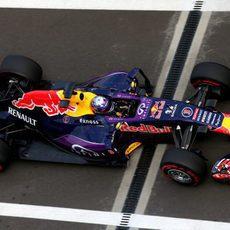 Riccardo fue el mejor clasificado de los Red Bull