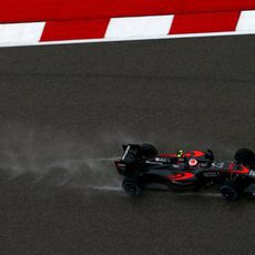 Jenson Button se queda a las puertas de la Q3