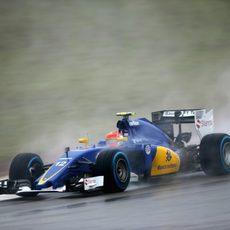Felipe Nasr se queda en la Q1