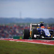 Felipe Nasr termina la carrera consiguiendo 2 puntos
