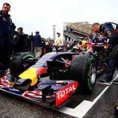 Los Red Bull se posicionaron muy bien en la parrilla de salida