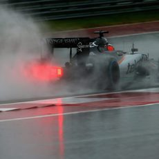 Nico Hülkenberg que lidiar con las complicadas condiciones de la pista