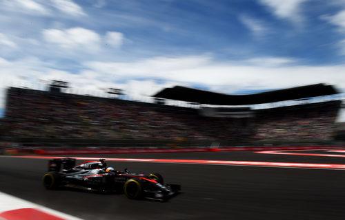 Fernando Alonso rueda en el último sector