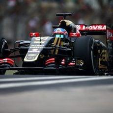 Jolyon Palmer rodando en Interlagos