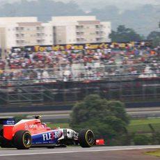 Alexander Rosi rodando en Interlagos