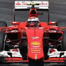 Kimi Raikkonen clasifica en 5ª posición