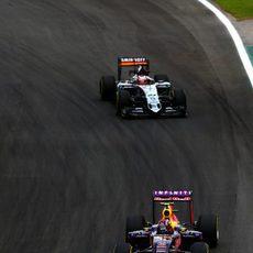 Nico Hülkenberg en la sesión de clasificación