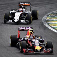 Nico Hülkenberg en la carrera de Interlagos
