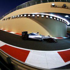 Felipe Massa entrando al pit-lane