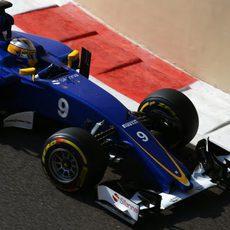 Marcus Ericsson luchando por encontrar equilibrio