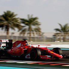 Sebastian Vettel se queda en la Q1
