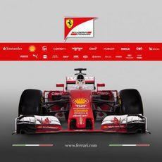 Presentación del Ferrari SF16-H