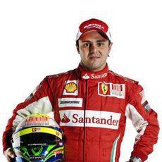 Felipe Massa vuelve a enfundarse el rojo