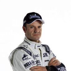 Rubens Barrichello luce sus nuevos colores
