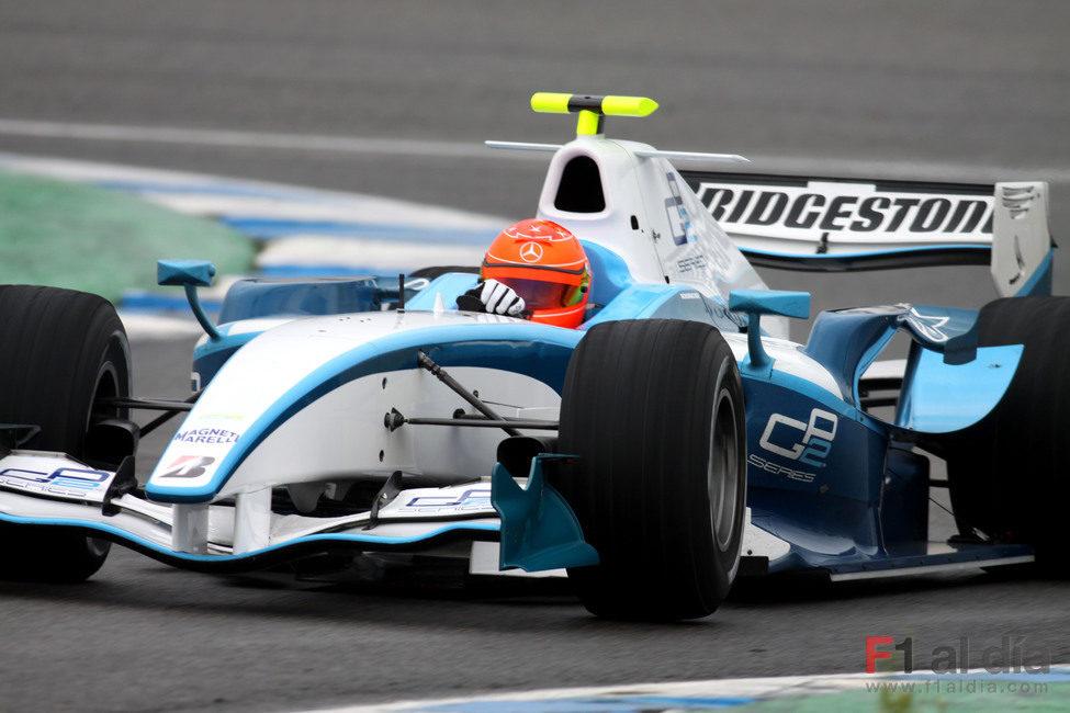 'Schumi' da sus primeras vueltas con el GP2