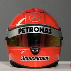 Nuevo casco de Michael Schumacher