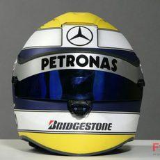 Nuevo casco de Nico Rosberg