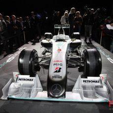 El '3' será el monoplaza de Schumacher