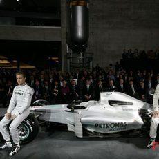 Rosberg, Schumacher y sus nuevos colores
