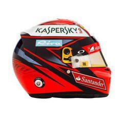 Casco de Kimi Raikkonen para la temporada 2016