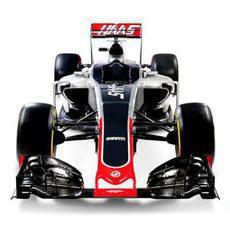 Haas VF16 visión frontal