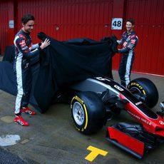 Grosjean y Gutiérrez destapan su VF16