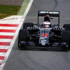 Jenson Button estrena el McLaren