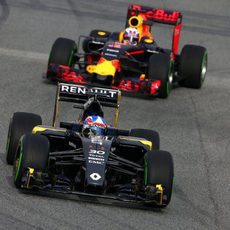 Primeras imagenes del Renault en pista