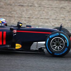 El Red Bull esperaba al primer día de test a presentar su coche