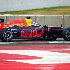 Neumáticos de lluvia para los primeros kilómetros del Red Bull