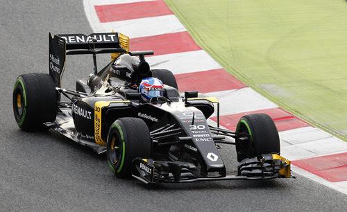 Jolyon Palmer era el encargado de estrenar el Renault