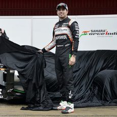 Hulkenberg y Pérez destapan su nuevo coche