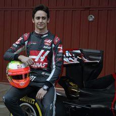 Esteban Gutiérrez orgulloso en su vuelta a la F1