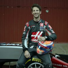 Romain Grosjean empieza nueva etapa junto a Haas