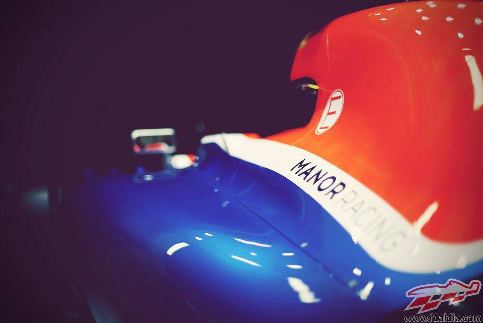 Detalle del MT05 de Manor Racing