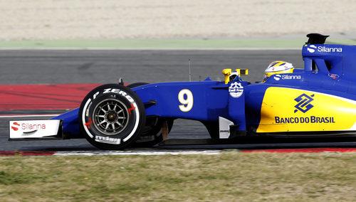 Sauber ha rodado con un C34 actualizado