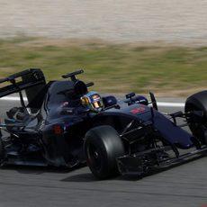 Carlos Sainz tenía problemas en la caja de cambios