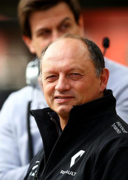 Frederic Vasseur, director deportivo de Renault
