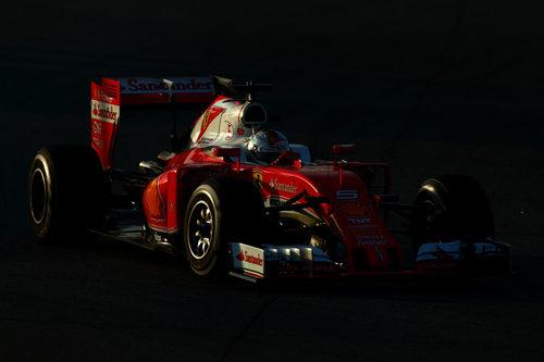 El Ferrari ha vuelto a ser el más rápido en pista