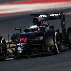 Fernado Alonso ha podido probar su coche nuevo